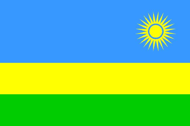 Drapeau Rwandais