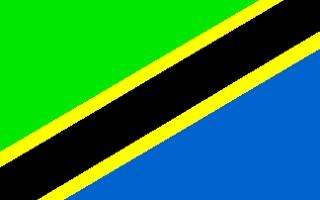 Drapeau Tanzanien