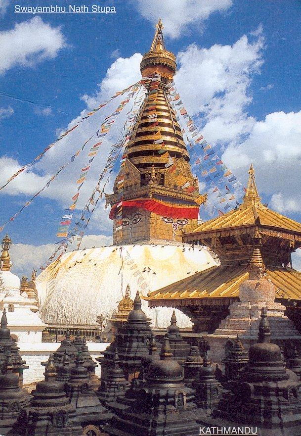 Carte postale Népal